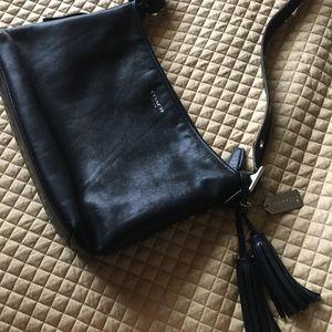 Authentic BLK Leather COACH bag